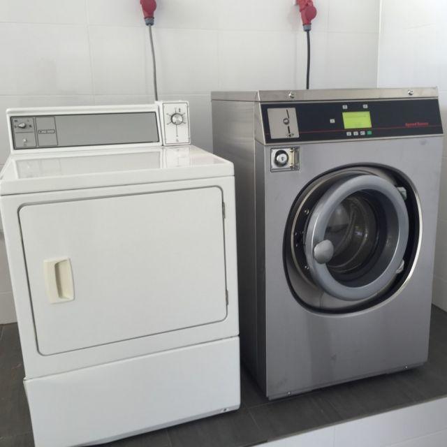 foto 6,5 kgwasmachine met 8kg elektrische droger