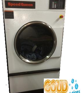gasverwarmde droger speedqueen SX75 goud laundry solutions unimac ux75 gasheated tumbler