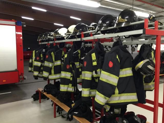 wasmachine voor de brandweer