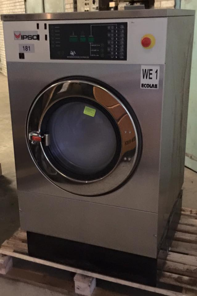 IPSO WE181 18KG PROFESSIONELE WASMACHINE GOUD LAUNDRY SOLUTIONS