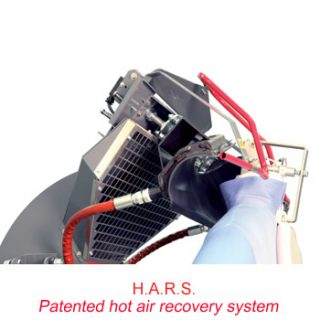 HARS systeem van PONY EAGLE 2.0