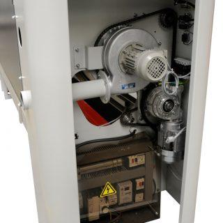 secom zijkant ventilatie motor