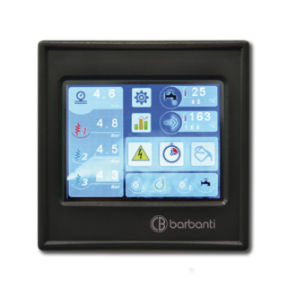 stoomgenerator Barbanti type g270 touchscreen