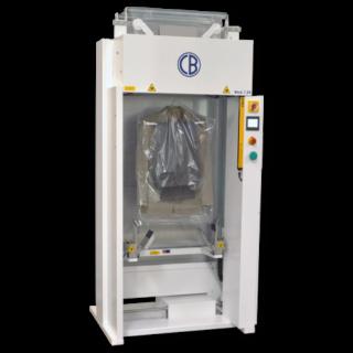 Barbanti inpakmachine kleding type i20 natuurlijk bij goud laundry solutions