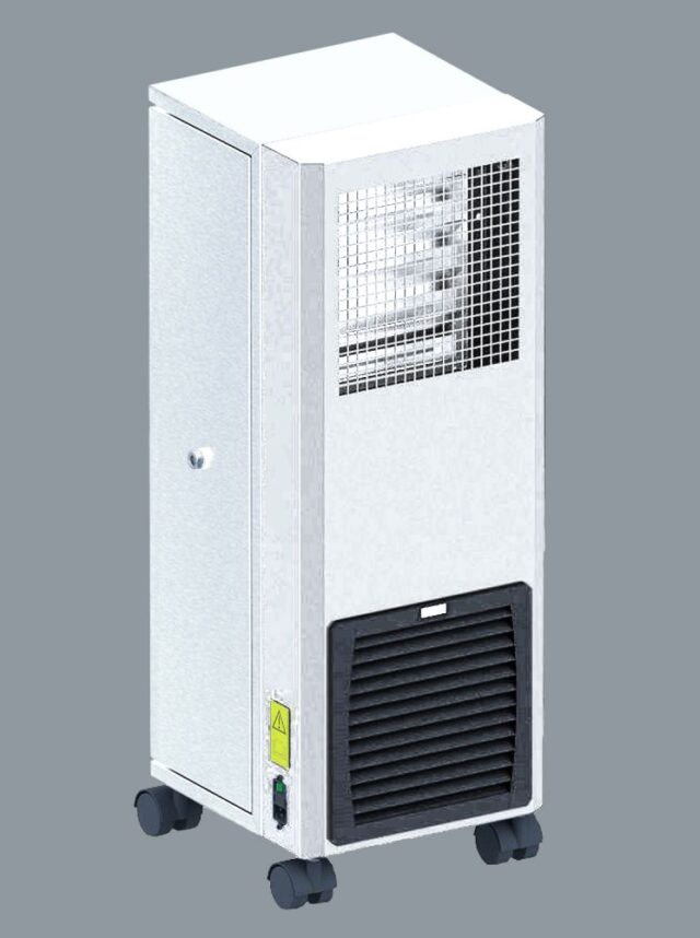 AC10 air cleaner veit kleur wit