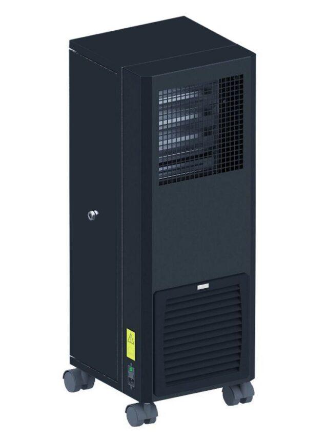 AC10 air cleaner veit kleur zwart